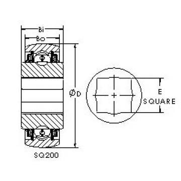 Rodamiento SQ208-102X AST