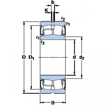 Rodamientos BS2-2207-2RS/VT143 SKF