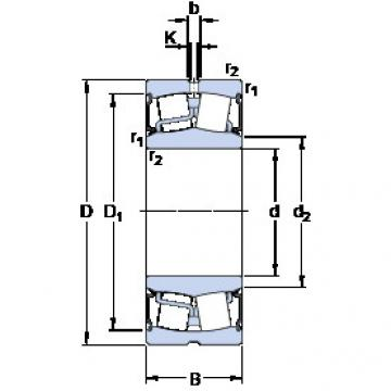 Rodamientos BS2-2311-2RS/VT143 SKF