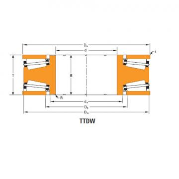 Bearing Thrust race single T10250f