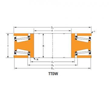 Bearing Thrust race single T24000f