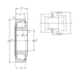 Rodamiento 4T-M84548/M84510 NTN
