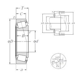 Rodamiento 4T-L68149/L68111 NTN